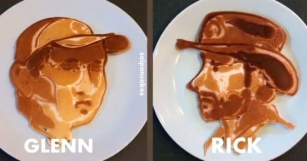 These Pancake Artists Created A Scrumptious Breakfast 'The Walking Dead' Fans Will Love